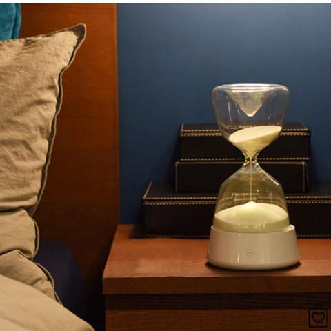 Đồng hồ cát đèn ngủ