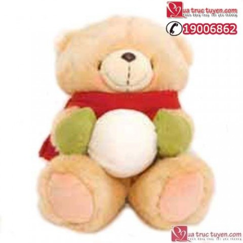 gau forever friend-snowball bear