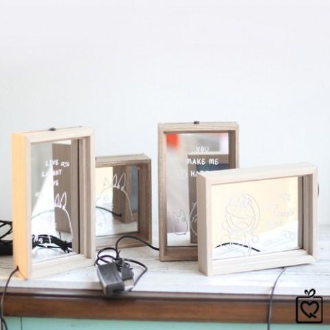 Khung Đèn LED trang trí 3D