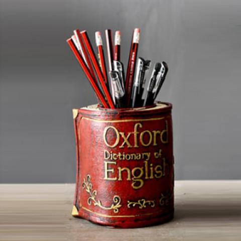 Ống đựng bút hình quyển sách Oxford