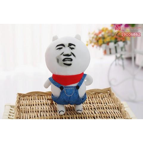 Gấu bông Troll face-30cm
