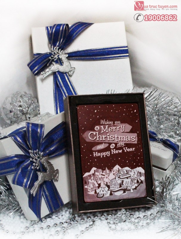 Socola-giang-sinh-10x15cm- Merry-Christmast 1