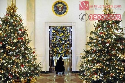 (2)US-WHITE HOUSE-HOLIDAY DECORATIONS