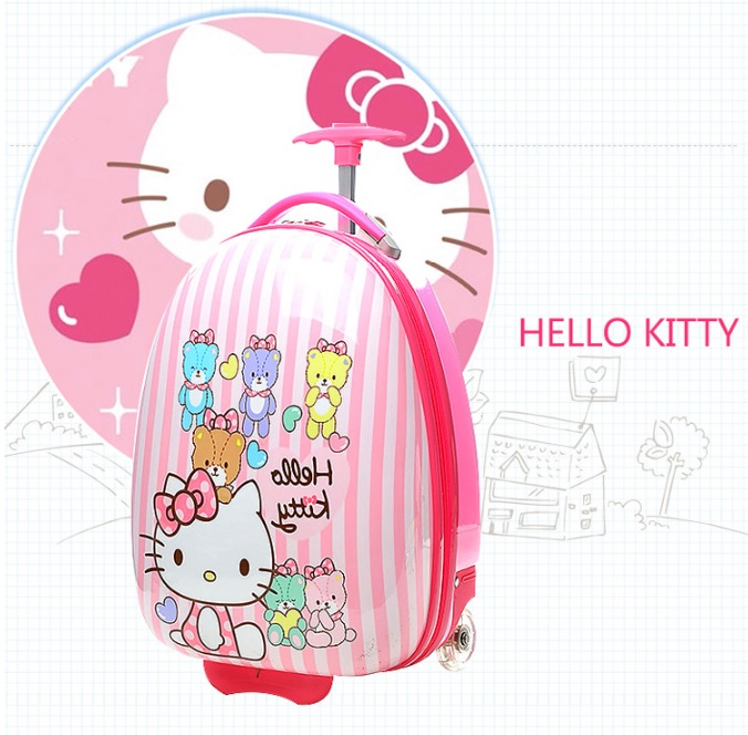 Balo vali kéo Hello Kitty