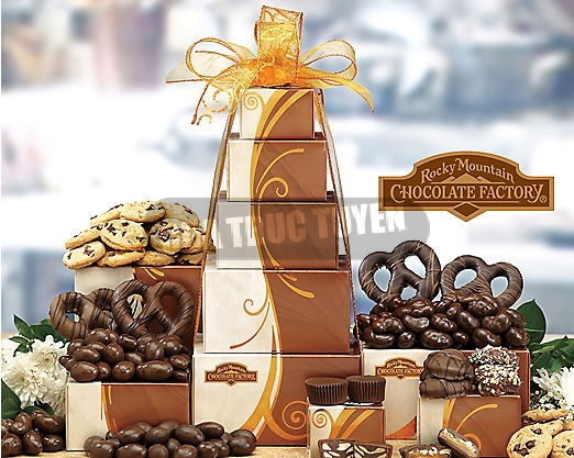 (VLG - GIF 510) Rocky Mountain Chocolate Tower