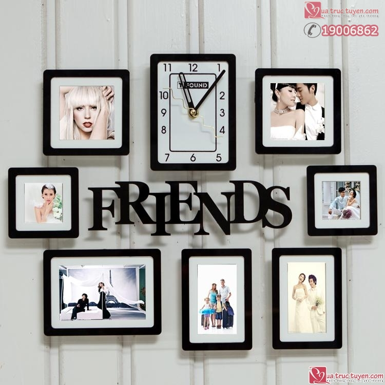 dong ho khung anh friends 7 anh4